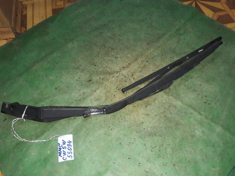Держатель дворника Mitsubishi Outlander CW5W 4B12 2006 передний