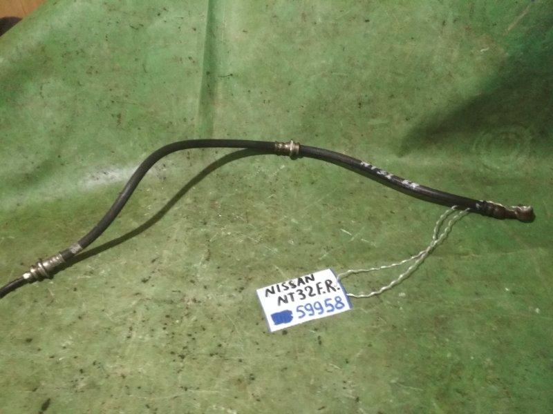 Шланг тормозной Nissan Xtrail NT32 MR20DD передний правый