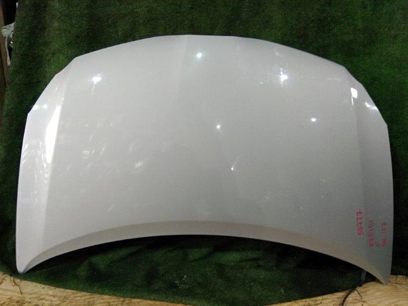 Капот Toyota Auris NZE151 1NZ-FE 2011