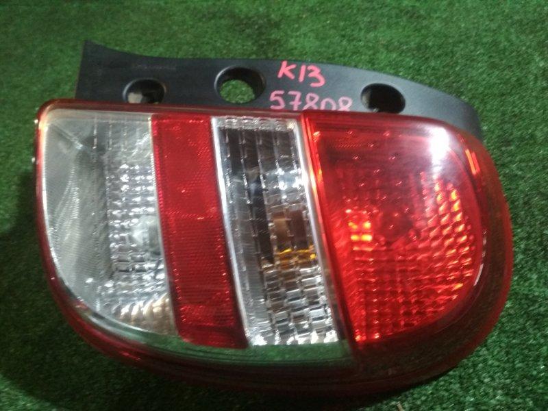 Стоп Nissan March K13 HR12DE 2010 правый