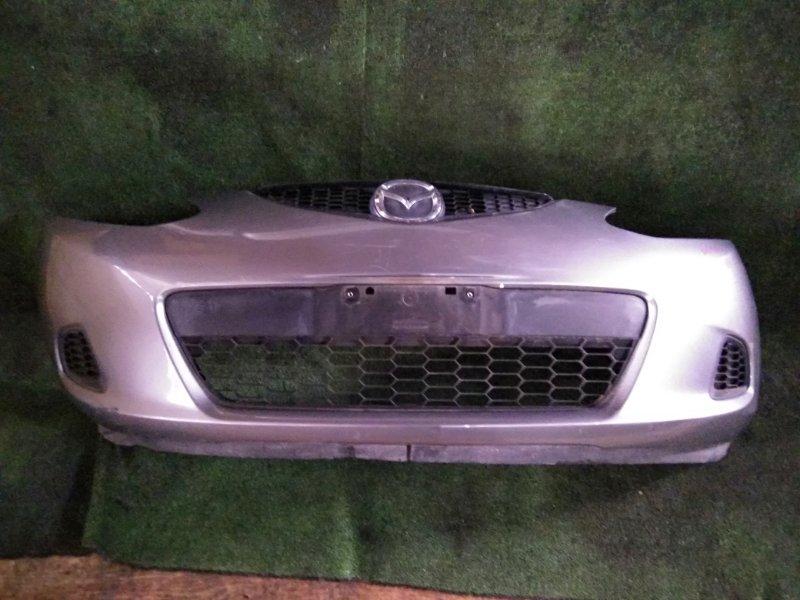 Бампер Mazda Demio DE3FS ZJ-VE 2010 передний