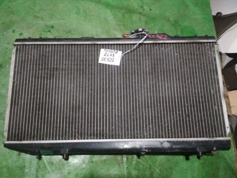 Радиатор Toyota Corolla Ii EL43 4E-FE