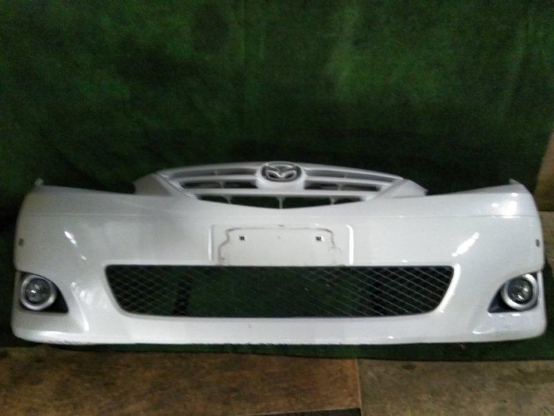 Бампер Mazda Mpv LW3W L3 2004 передний