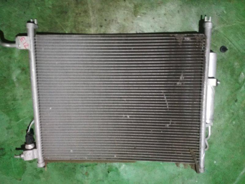 Радиатор кондиционера Nissan Note E12 HR12DE