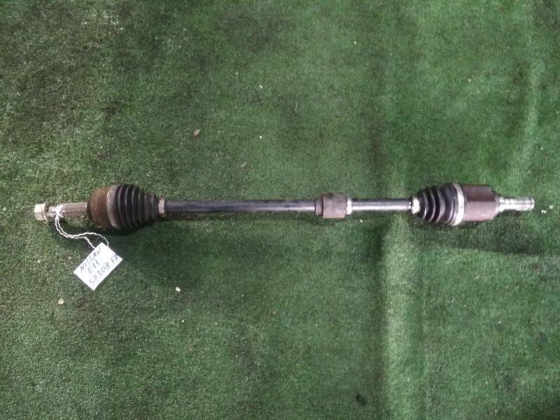 Привод Nissan Note E11 HR15DE передний правый