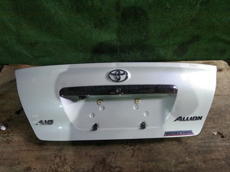 Крышка багажника Toyota Allion AZT240 1AZ-FSE
