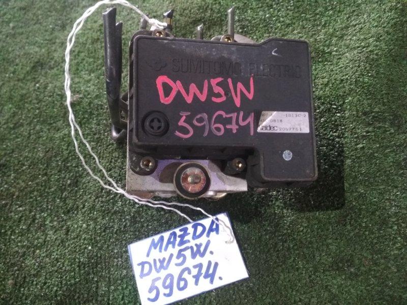 Блок abs Mazda Demio DW5W B5