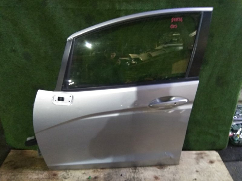 Дверь Honda Fit GK3 L13B 2015 передняя левая