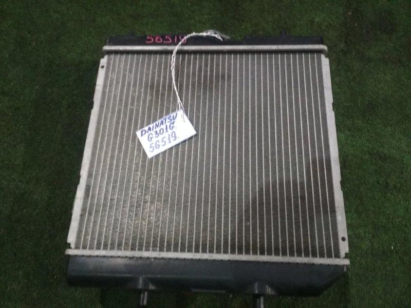 Радиатор Daihatsu Pyzar G301G HD-EP