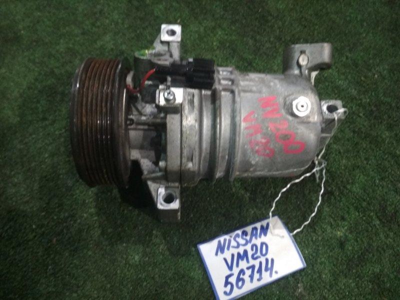 Компрессор кондиционера Nissan Nv 200 VM20 HR16 2013