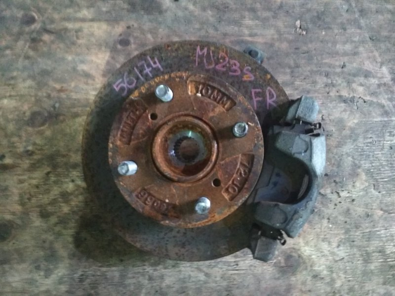 Ступица Mazda Az Wagon MJ23S K6A передняя правая