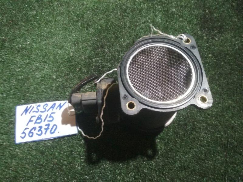 Датчик расхода воздуха Nissan Sunny FB15 QG15DE 1998