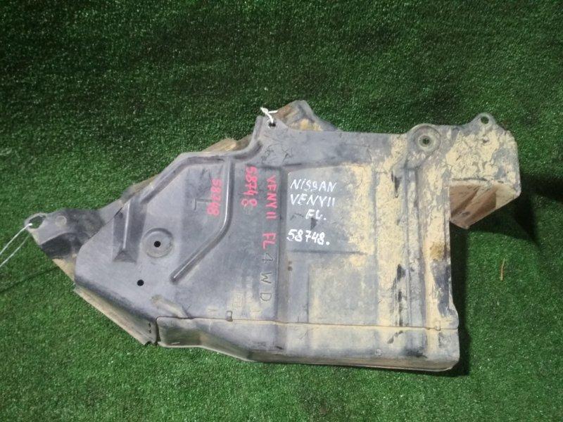 Защита двигателя Nissan Ad VFNY11 QG18DE 2009 левая
