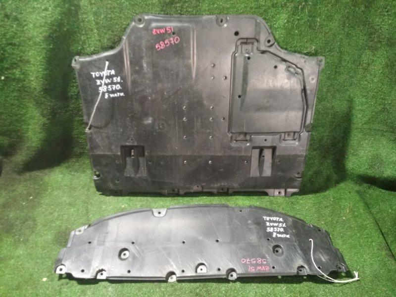 Защита двигателя Toyota Prius ZVW51