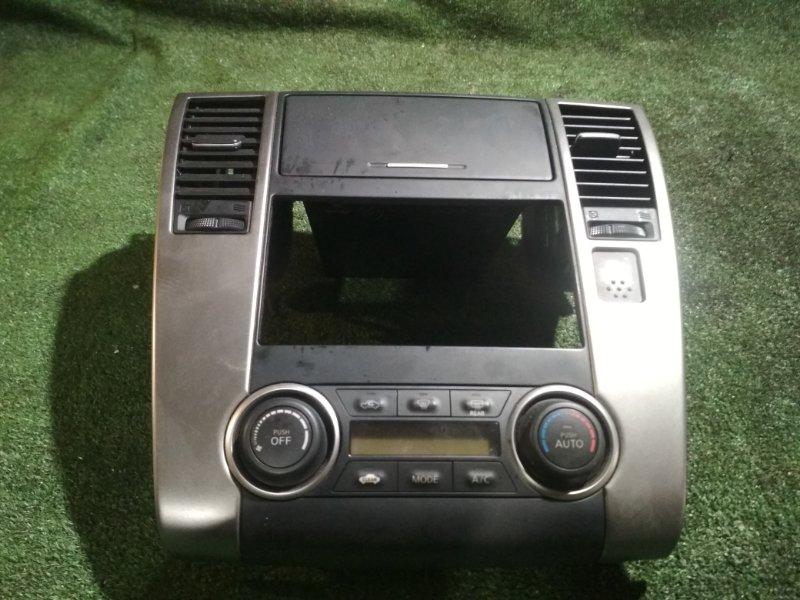Климат-контроль Nissan Tiida C11 HR15DE 2011
