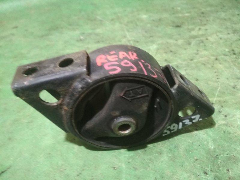 Подушка двигателя Nissan Primera WQP11 QG18 задняя