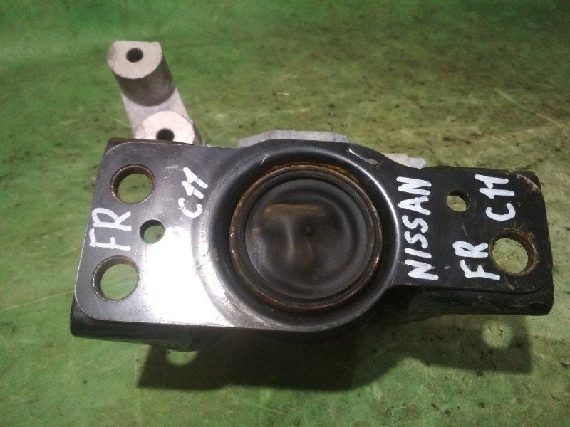 Подушка двигателя Nissan Tiida C11 HR15DE 2011 передняя правая