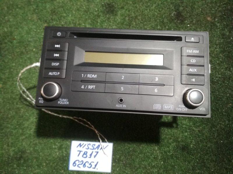 Магнитофон Nissan Bluebird Sylphy TB17 MRA8DE