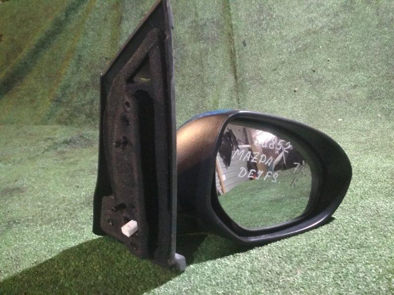 Зеркало Mazda Demio DEJFS P3-VPS 2011 правое