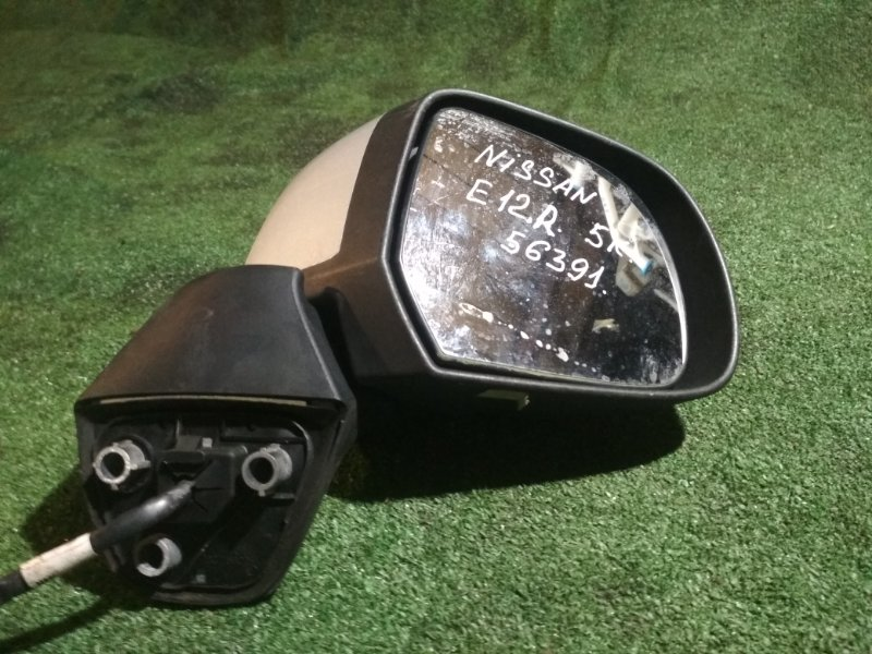 Зеркало Nissan Note E12 HR12DE правое
