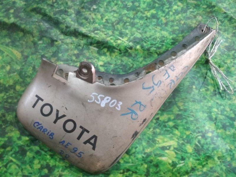 Брызговик Toyota Carib AE95 задний правый