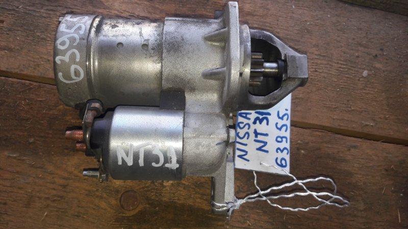 Стартер Nissan Xtrail NT31 MR20DE