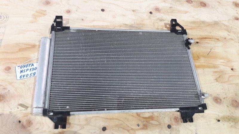 Радиатор кондиционера Toyota Vitz NSP130 1NR-FE