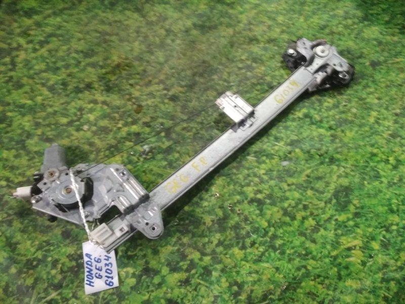 Стеклоподъемный механизм Honda Fit GE6 L13A передний правый