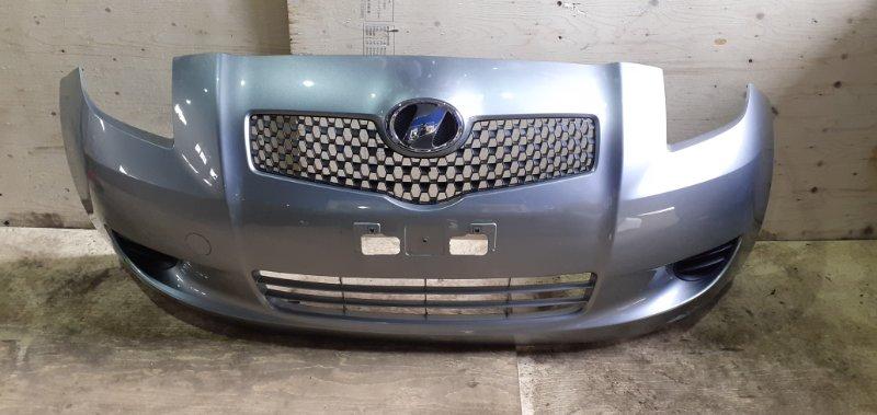 Бампер Toyota Vitz KSP90 1KR-FE передний