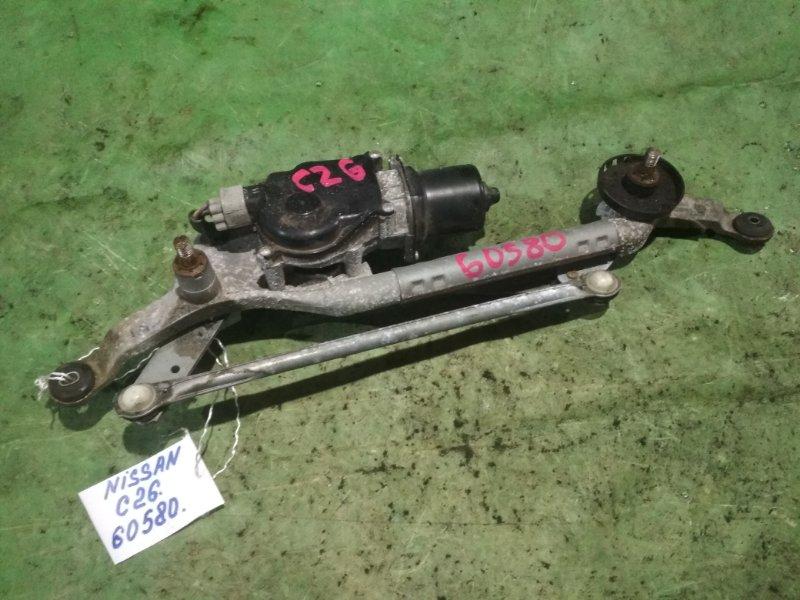 Мотор стеклоочистителя Nissan Serena C26 MR20