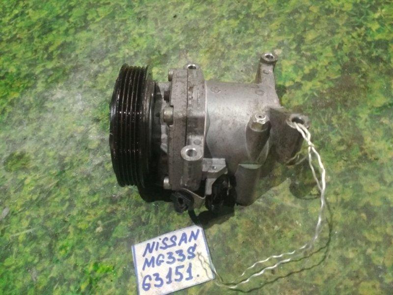 Компрессор кондиционера Nissan Moco MG33S R06A