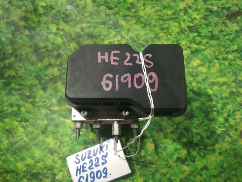 Блок abs Suzuki Alto Lapin HE22S K6A