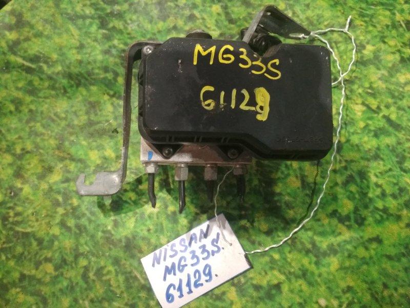 Блок abs Nissan Moco MG33S R06A