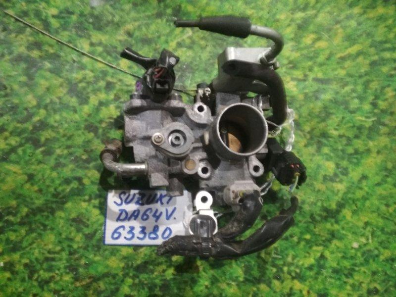 Заслонка дроссельная Suzuki Every DA64V K6A
