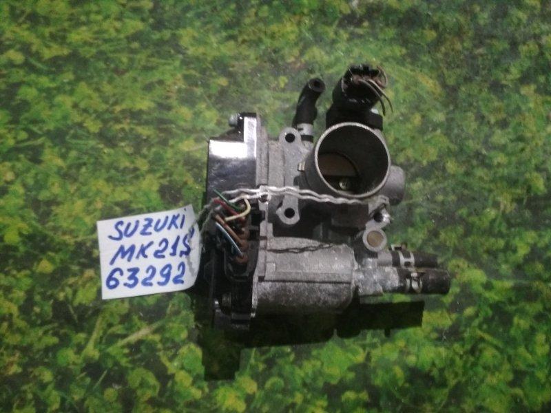 Заслонка дроссельная Suzuki Palette MK21S K6A