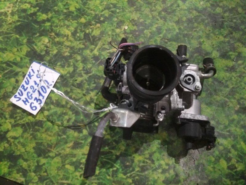 Заслонка дроссельная Suzuki Cervo HG21S K6A