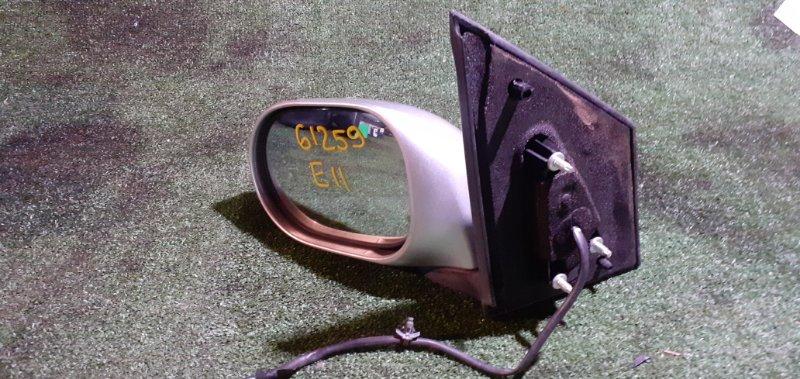 Зеркало Nissan Note E11 HR15DE левое
