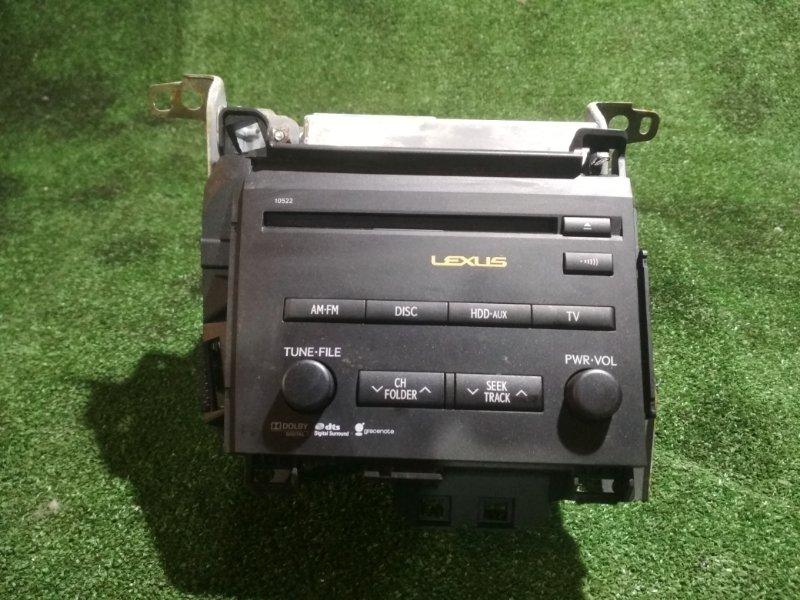 Магнитофон Lexus Ct200H ZWA10 2ZRFXE