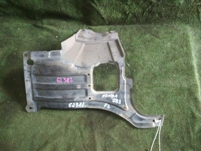 Защита двигателя Honda Freed Spike GB3 L15A левая