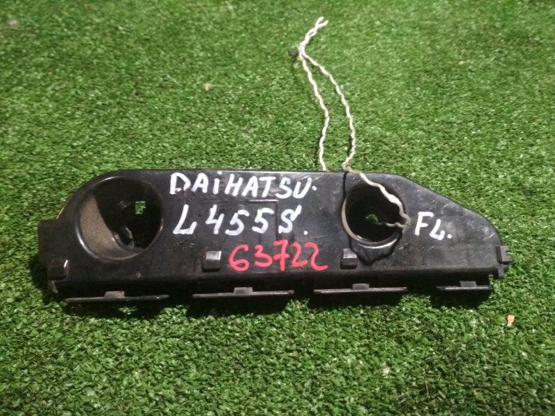 Крепление бампера Daihatsu Tanto Exe L455S KF переднее левое