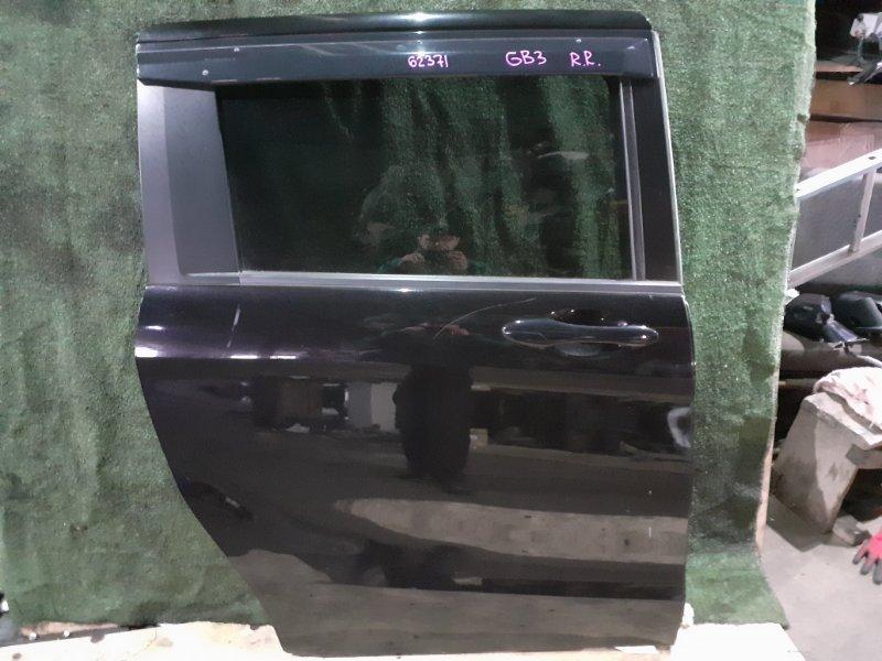 Дверь Honda Freed Spike GB3 L15A задняя правая