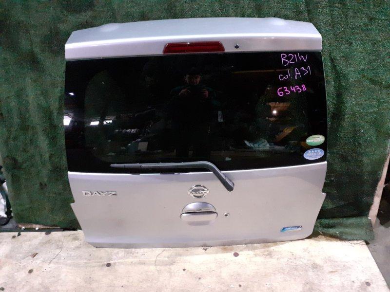 Дверь 5-я Nissan Dayz B21W 3B20