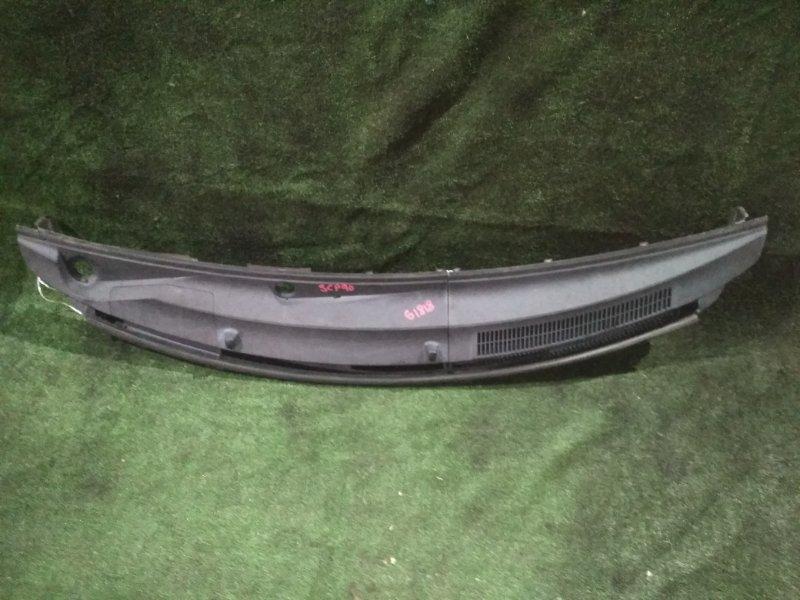 Решетка под дворники Toyota Vitz SCP90 2SZ-FE