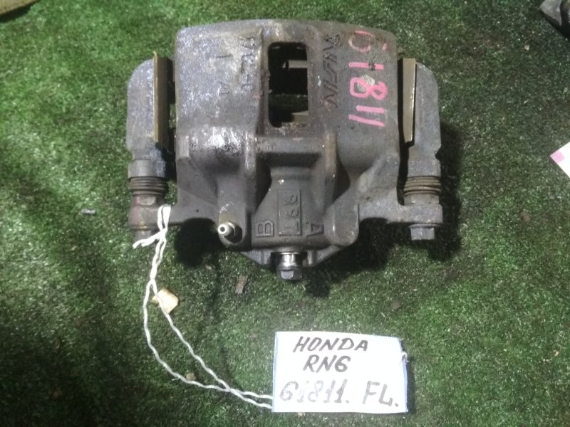 Суппорт Honda Stream RN6 R18A передний левый