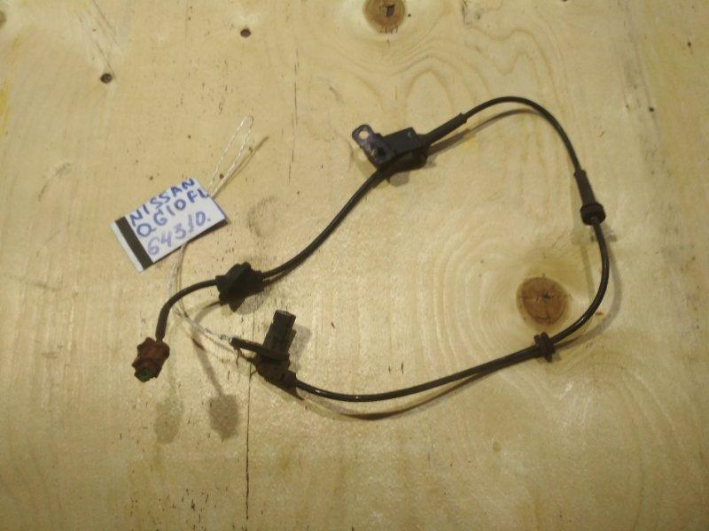 Датчик abs Nissan Bluebird Sylphy QG10 QG18DE передний левый