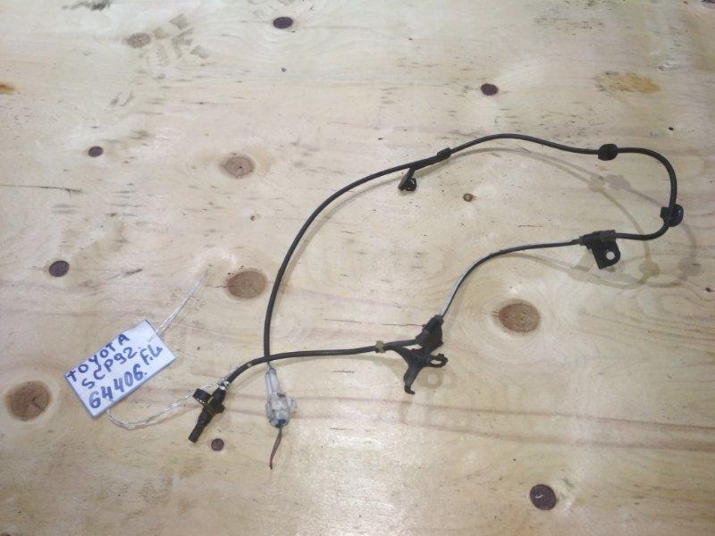 Датчик abs Toyota Belta SCP92 2SZ-FE передний левый