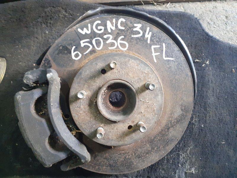 Ступица Nissan Stagea WGNC34 RB25DET передняя левая