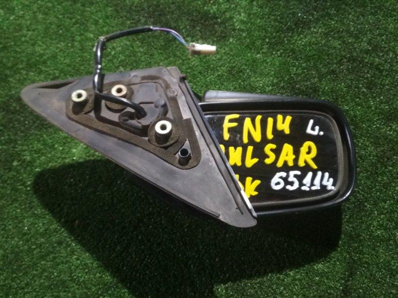 Зеркало Nissan Pulsar FN14 GA16 левое