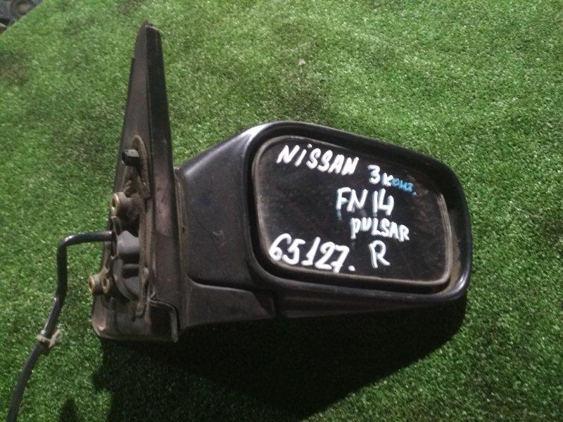 Зеркало Nissan Pulsar FN14 GA16 правое