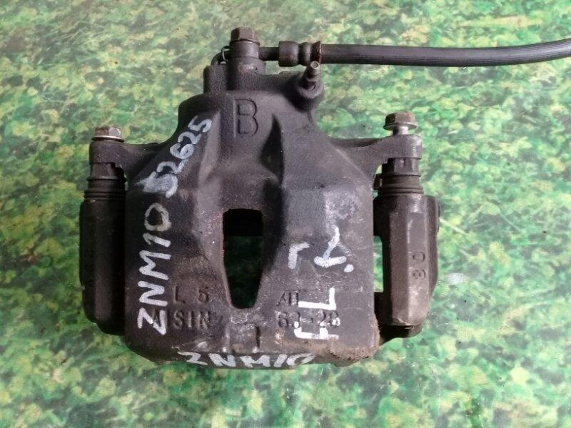 Суппорт Toyota Isis ZNM10 1ZZ-FE передний левый